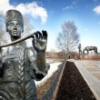Batyushkov monument in Vologda — Stock Photo