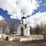 Stone chapel, orthodox church, Russia — Stock Photo #28270529