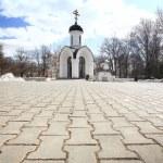 Stone chapel, orthodox church, Russia — Stock Photo #28271451