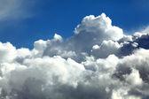 Sky cumulus clouds — Stock Photo