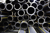 Plumbing pipes industry — Stock Photo