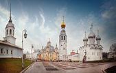 Panorama landscape Orthodox Church — Stock Photo