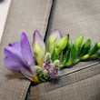 Stock Photo: Boutonniere pocket