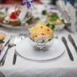 Stock Photo: Restaurant table setting