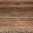 Texture layers of earth — Stock Photo