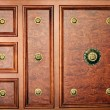 Texture vintage mahogany cabinet — Stock Photo