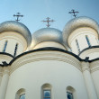 Stock Photo: Church domes against sky