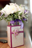Anello bouquet di nozze — Foto Stock