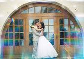 Gelin ve damat düğün — Stok fotoğraf