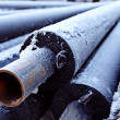 Stock Photo: Sewer pipes