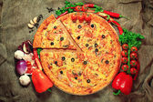 ломтик пиццы — Стоковое фото