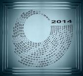 Spiral Calendar — Stock Photo