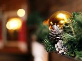 Decoração da árvore de natal — Foto Stock