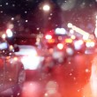 Road in winter night — Stock Photo #41201139