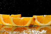 Mandarin Slice — Stock Photo