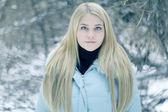 Chica de pelo rubio — Foto de Stock