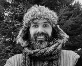 Smiling Bearded man — Stock Photo
