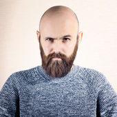 Man with beard — Stock Photo