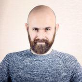 Man with beard — Stockfoto