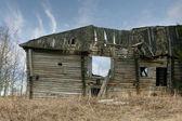 Casa de madeira velha — Foto Stock