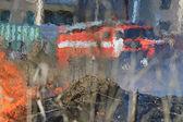 Fire truck — Zdjęcie stockowe