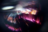 Glare blurred background — Stock Photo