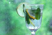 自制柠檬水 — 图库照片
