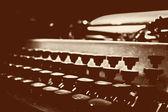 Vintage schrijfmachine — Stockfoto