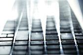 текстура клавиатуры — Стоковое фото