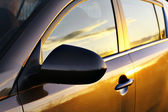 Car surface on Sunset — Stock Photo