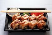 Asian sushi rolls — Stock Photo