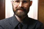 Bearded man — Стоковое фото