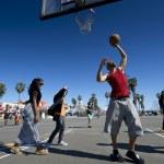 ������, ������: Ordinary playing basketball