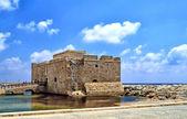 Paphos castle port on Cyprus — Stock Photo