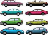 Samochody — Wektor stockowy