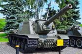 Military panzer track — Zdjęcie stockowe