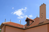 Roof of a house — Stock Photo