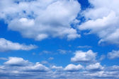 Clouds in a blue sky — Foto de Stock