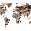 World map - Stockfoto