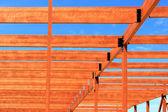 Dřevěný rám — Stock fotografie