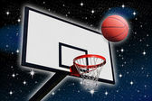A panel of basketball — Stock Photo