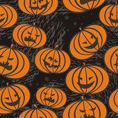 Scary pumpkins — Stock Vector