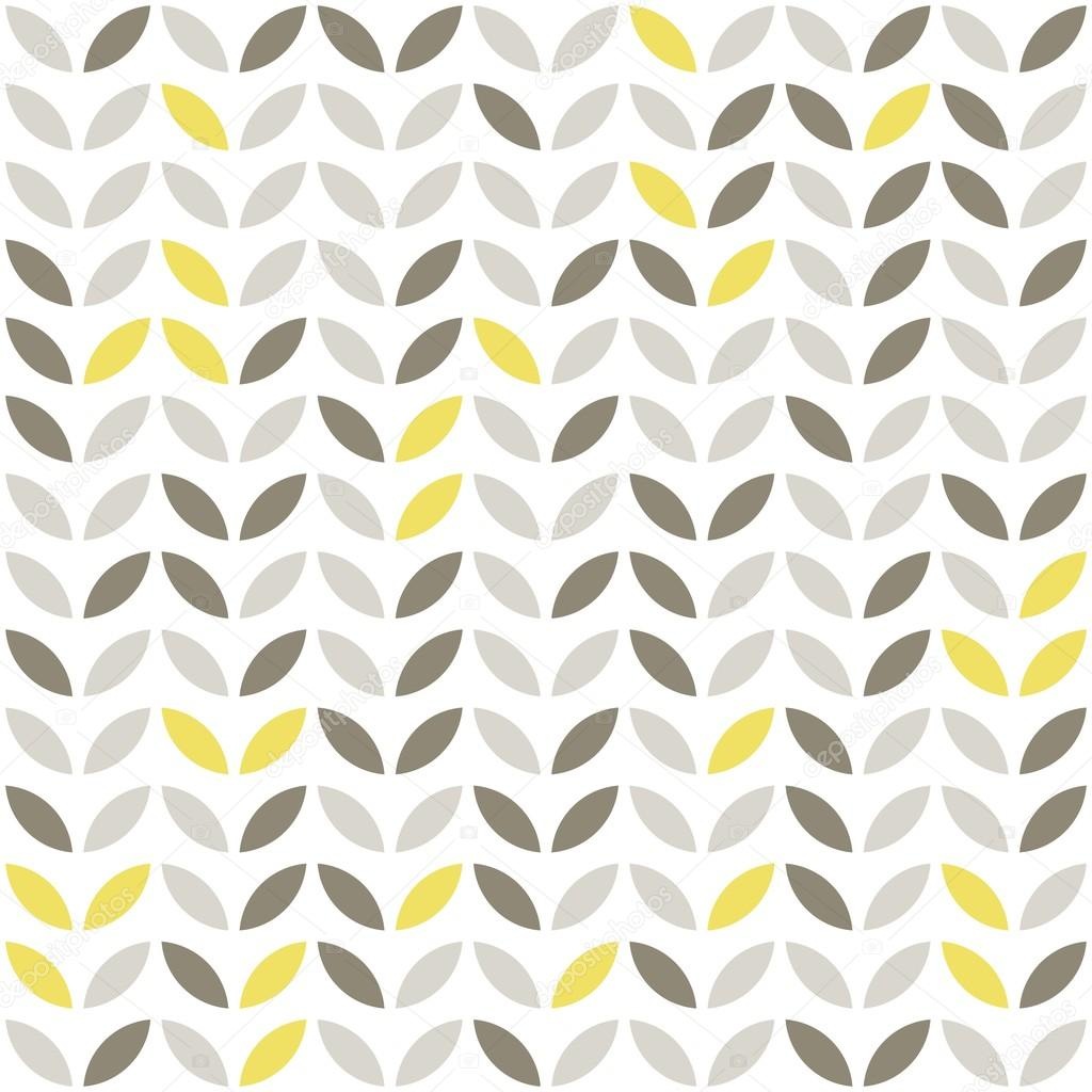 Yellow and white pattern background - photo#14