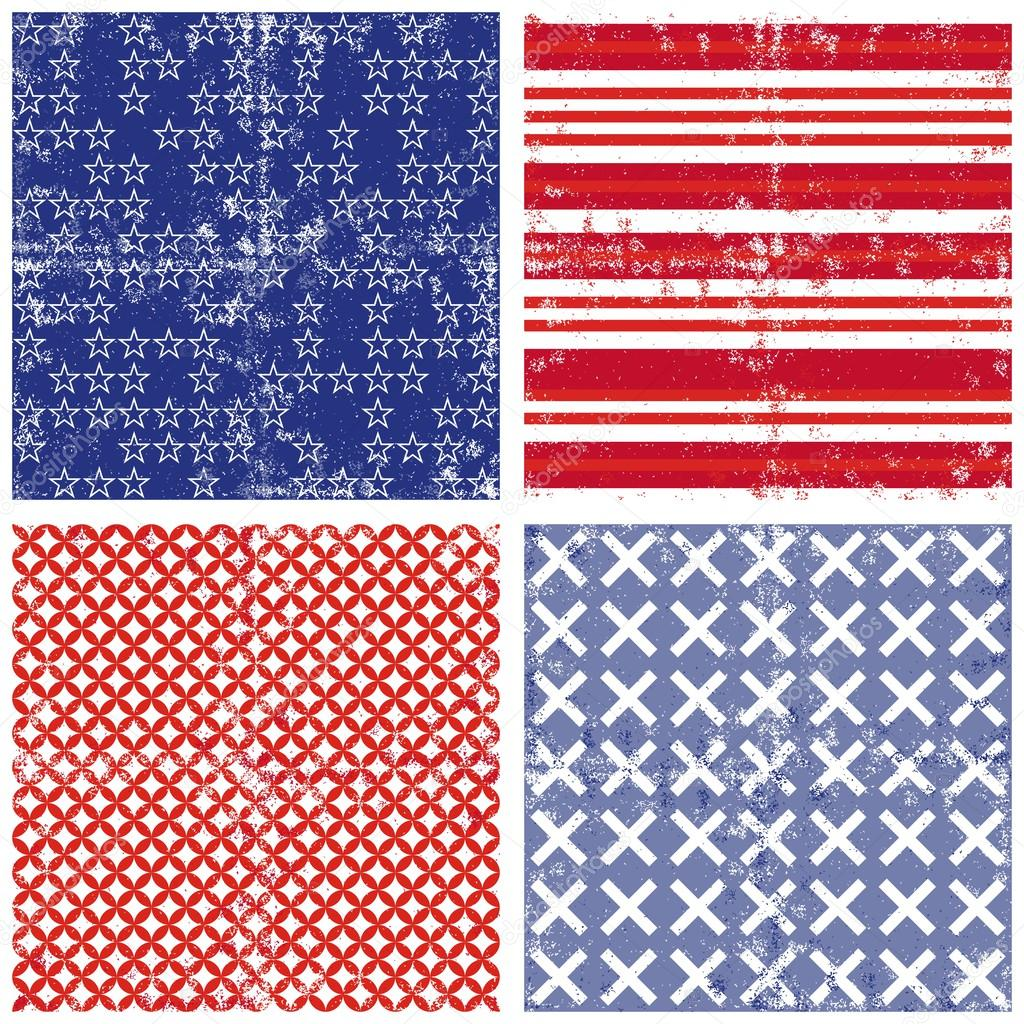 Red White Blue Stripes Background Blue Red White Star Stripe