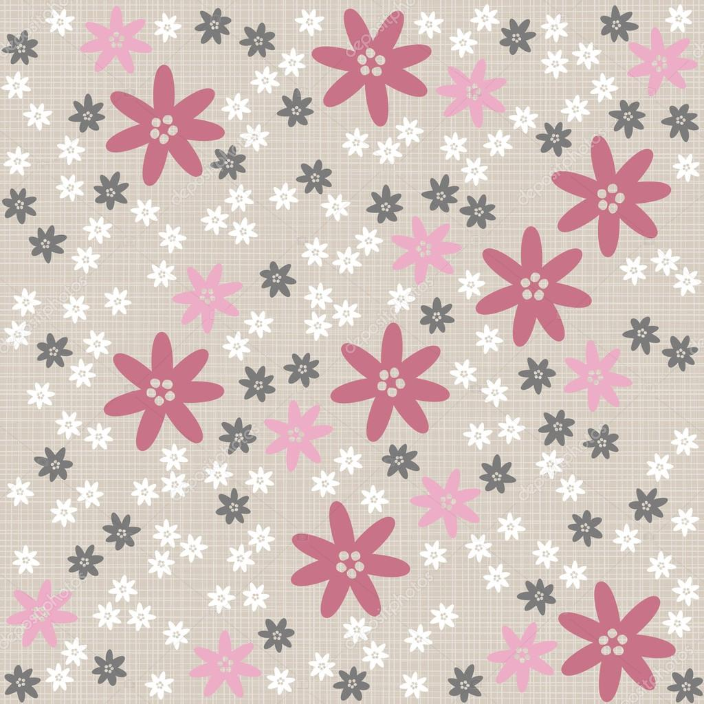 Tapete Rosa Wei? Gepunktet : Pink Gray White and Blue Wallpaper
