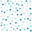Blue gray navy many messy little stars beautiful holiday seamless pattern on white background — Stock Vector #31750263
