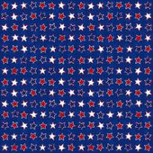 Patriotic american seamless pattern — Stock Vector