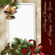 Stock Photo: Christmas greeting card