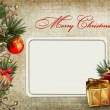 Christmas greeting card — Stock Photo #16308715