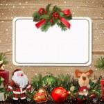 Christmas greeting card — Stock Photo #17211735
